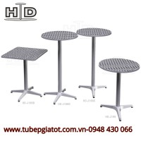 Công ty phân phối bàn ghế nhôm đúc