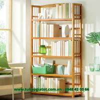 kệ sách gỗ giá rẻ