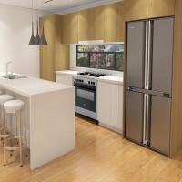 MẪU TỦ BẾP CHỮ I HIỆN ĐẠI CHO CĂN HỘ - [hot] 600+ tủ bếp gỗ đẹp
