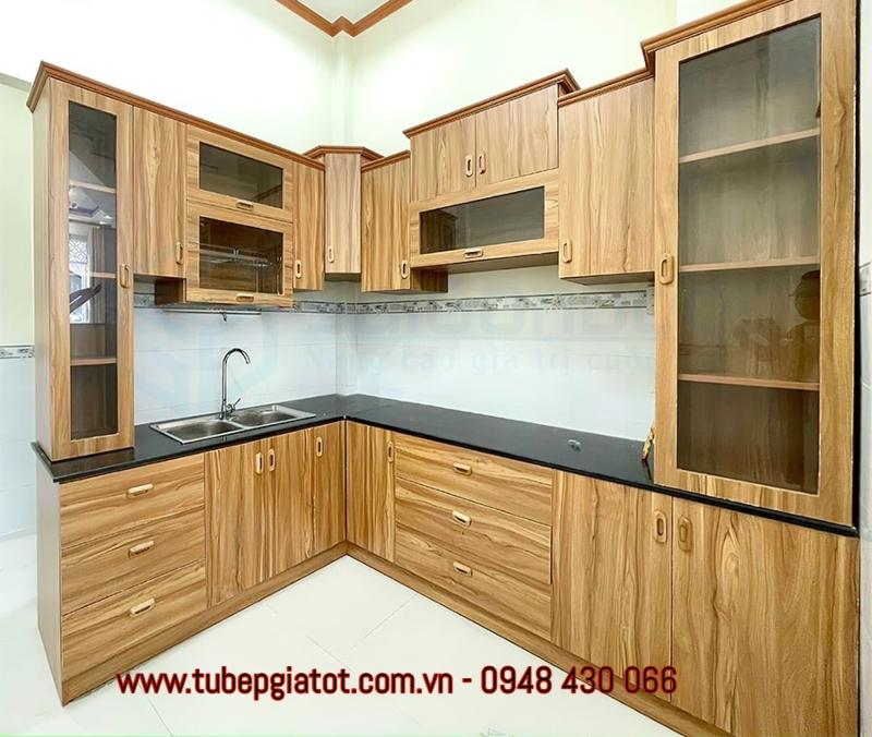 tủ bếp gỗ công nghiệp giá tốt