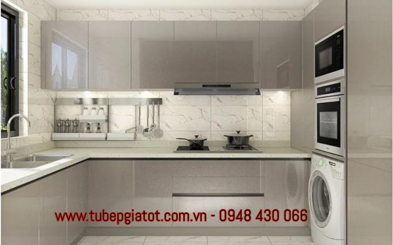 Tủ bếp gỗ rẻ đẹp