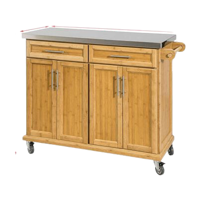 Tủ bếp gỗ tự nhiên 04